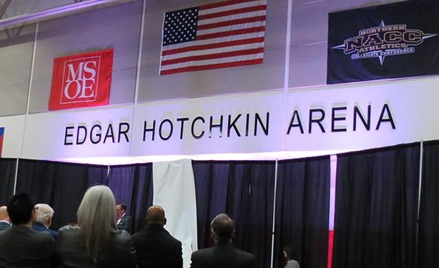 MSOE dedicates Edgar Hotchkin Arena in Kern Center