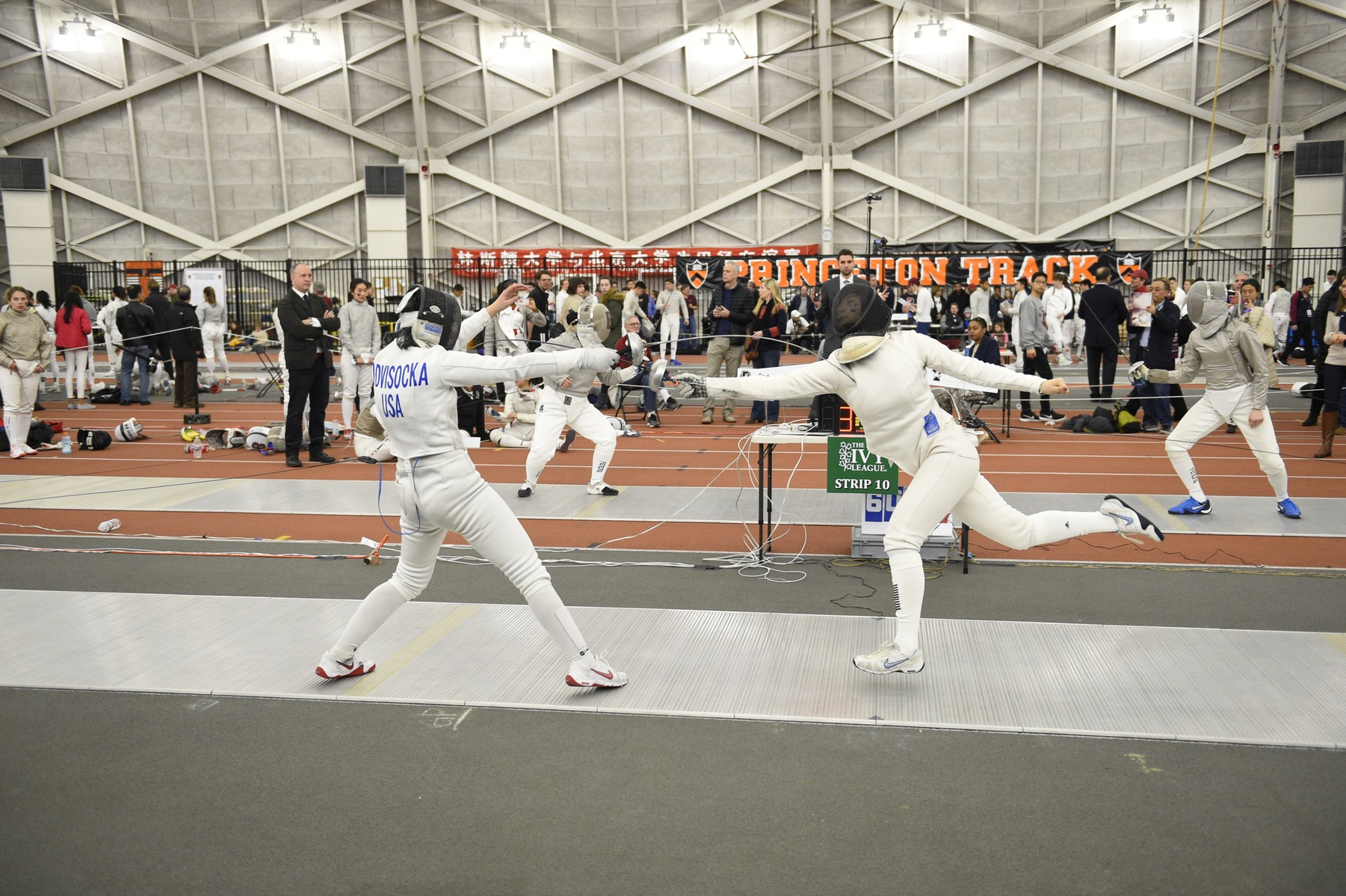 Women's Fencing Defeats Cornell, Has Three All-Ivy Finishers