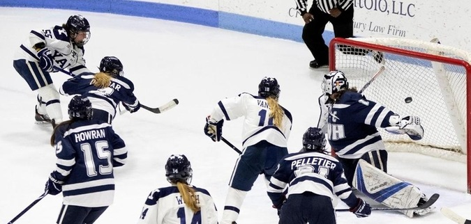 Yale loses lead in the 3rd, fall to New Hampshire