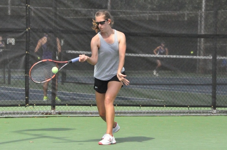 Women's Tennis: Panthers win third straight match with 9-0 sweep of Wesleyan