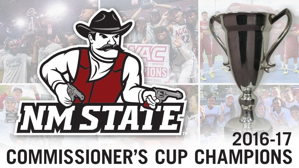 NM State Wins 2016-17 Commissioner's Cup