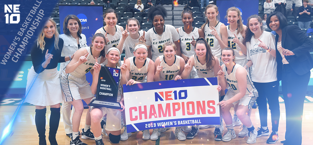 Embrace the Championship: Le Moyne Wins First-Ever NE10 Women's Basketball Title