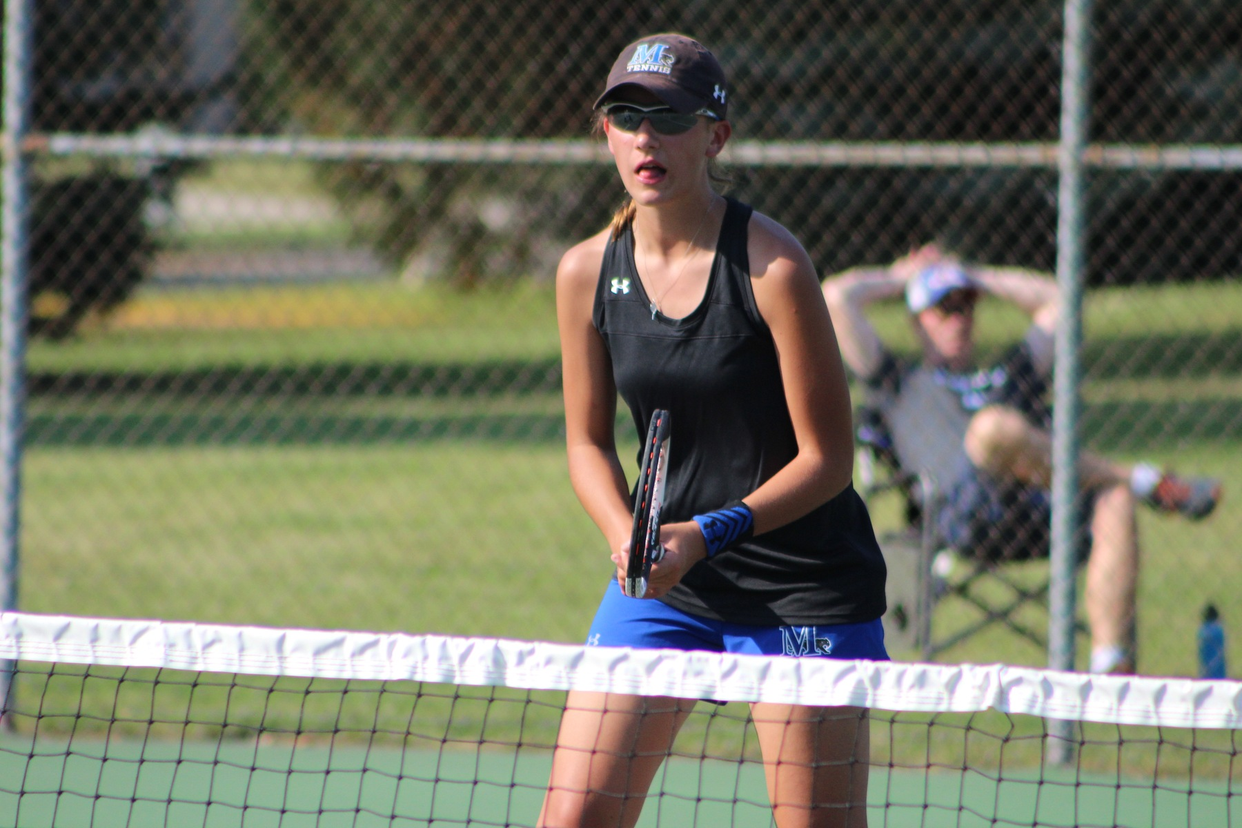 Sabre women's tennis knocks off Lawrence