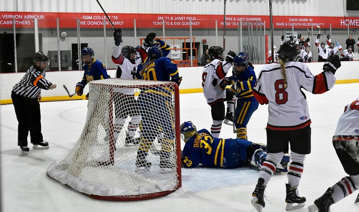 Lake Forest Blanks St. Scholastica, Climbs into Tie for Second Place in NCHA