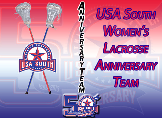 USA South Announces 50th Anniversary Women's Lacrosse Team