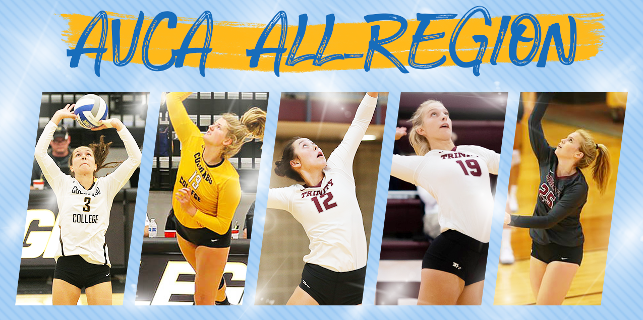 Five SCAC Volleyball Players Earn AVCA All-Region Recognition