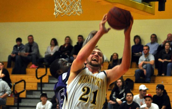 Wentworth Opens League Play With 66-40 Win