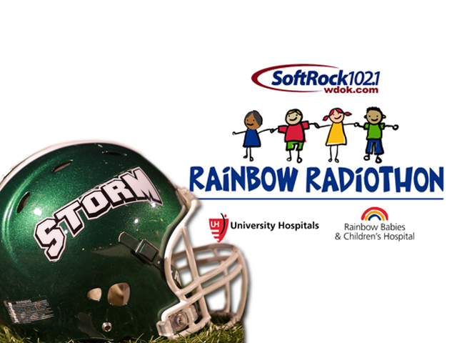 Storm Football to Volunteer for WDOK Rainbow Radiothon