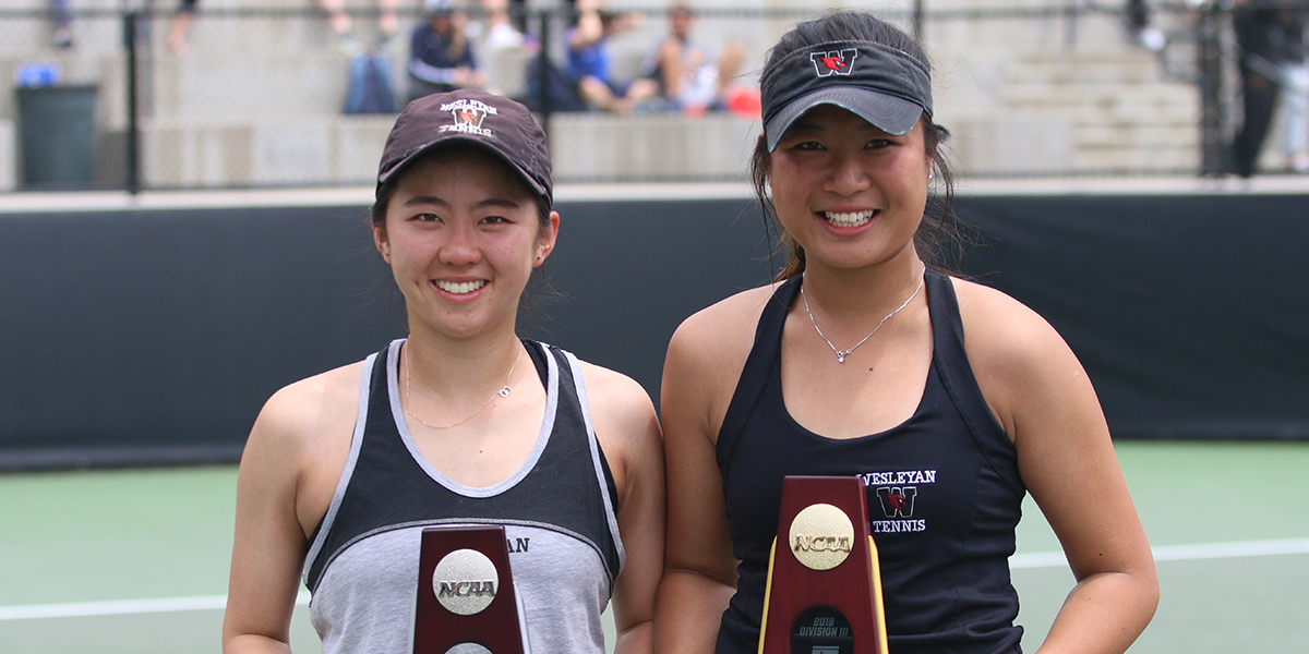 NATIONAL CHAMP! Chong Wins Fourth-Straight Title in All-Wesleyan Singles Final