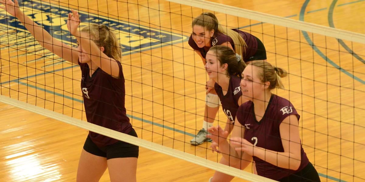 Graceland Stops Evangel Volleyball on the Road, 3-0