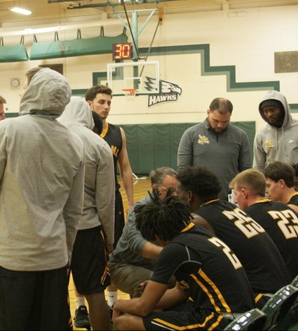 Broome during a timeout