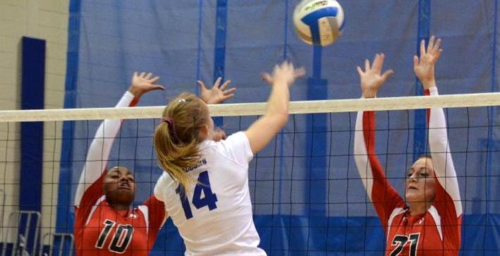 Volleyball drops NAC opener at Lakeland