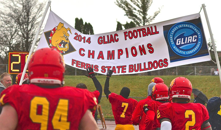Ferris State Football Beats NMU To Claim Share Of First GLIAC Championship Since 1999