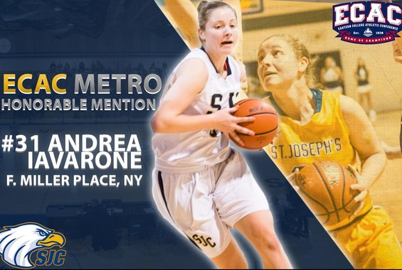 Iavarone Lands On ECAC DIII Metro Women's Basketball Honorable Mention