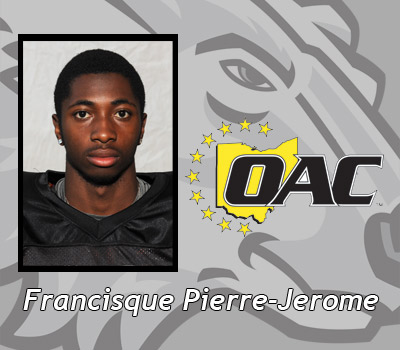 Pierre-Jerome Named OAC Runner of the Week for Men's Track