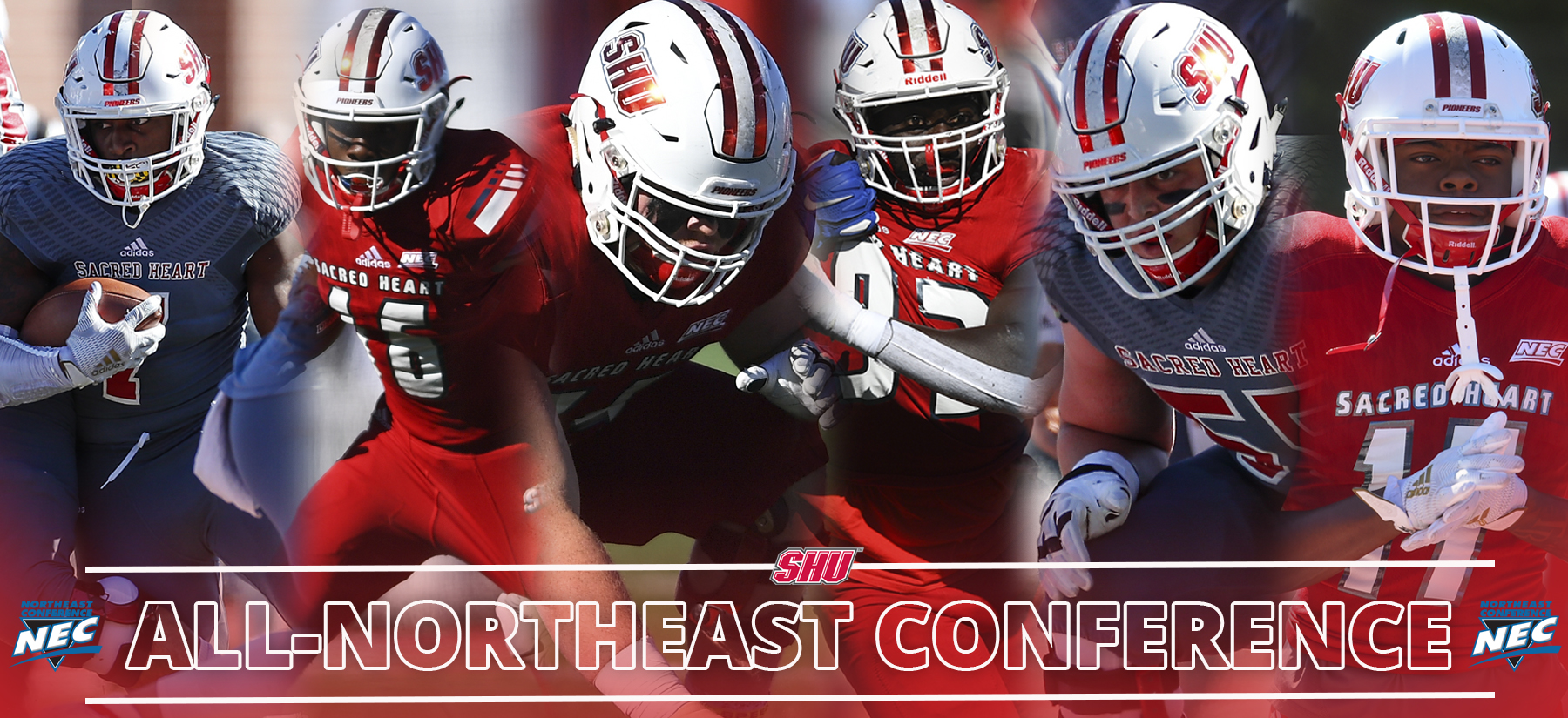 Tyrese Chambers Named NEC Offensive Rookie of the Year; Six Pioneers Named All-Conference