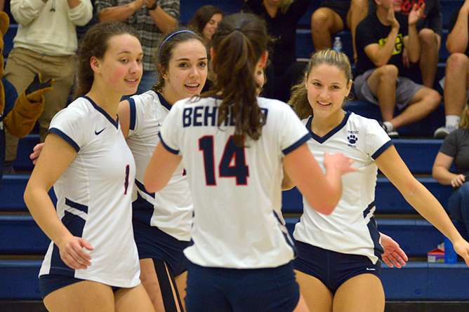 Behrend Volleyball Set For Marymount Invitational This Weekend