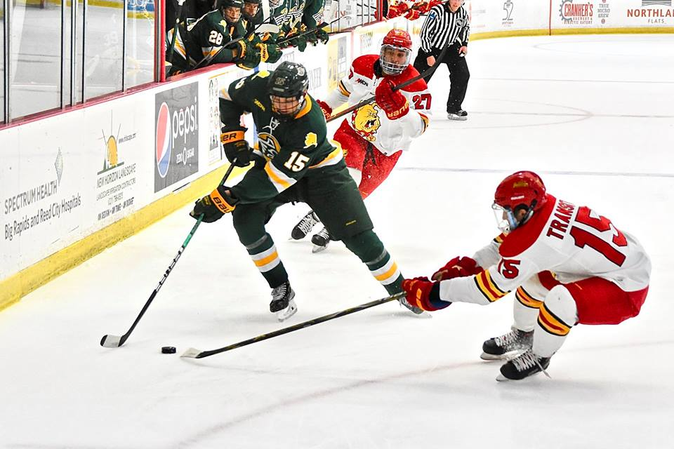 Ferris State Hockey Caps WCHA Weekend Home Sweep Against Seawolves ... 96f56372436