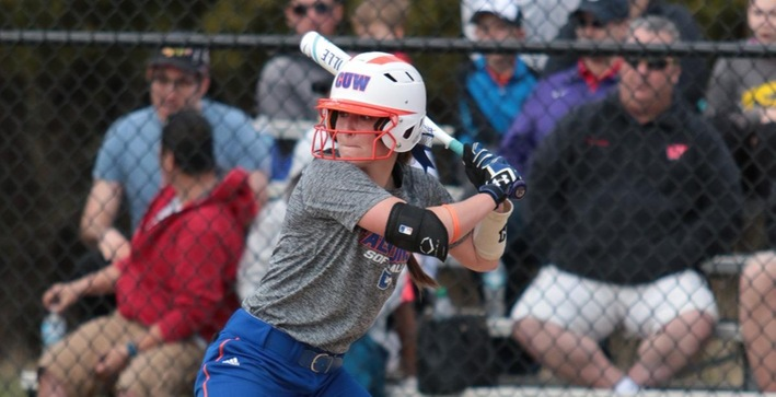 Softball sweeps defending NACC champs Aurora