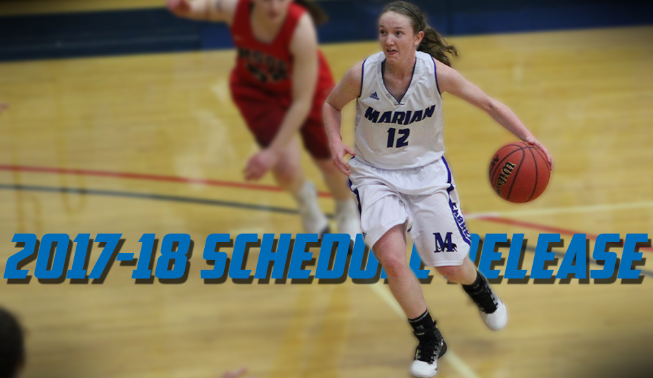 Sabre women's basketball 2017-18 schedule announced