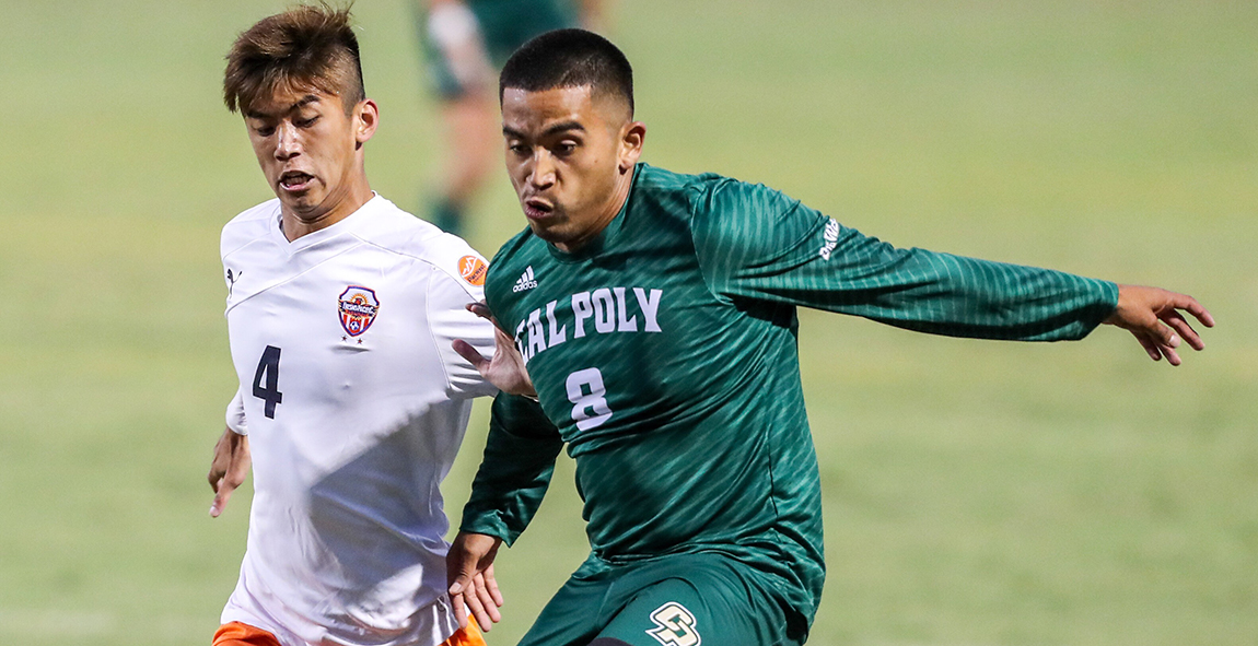 Melgoza Nets First Career Goal, but Cal Poly Falls at Portland, 2-1