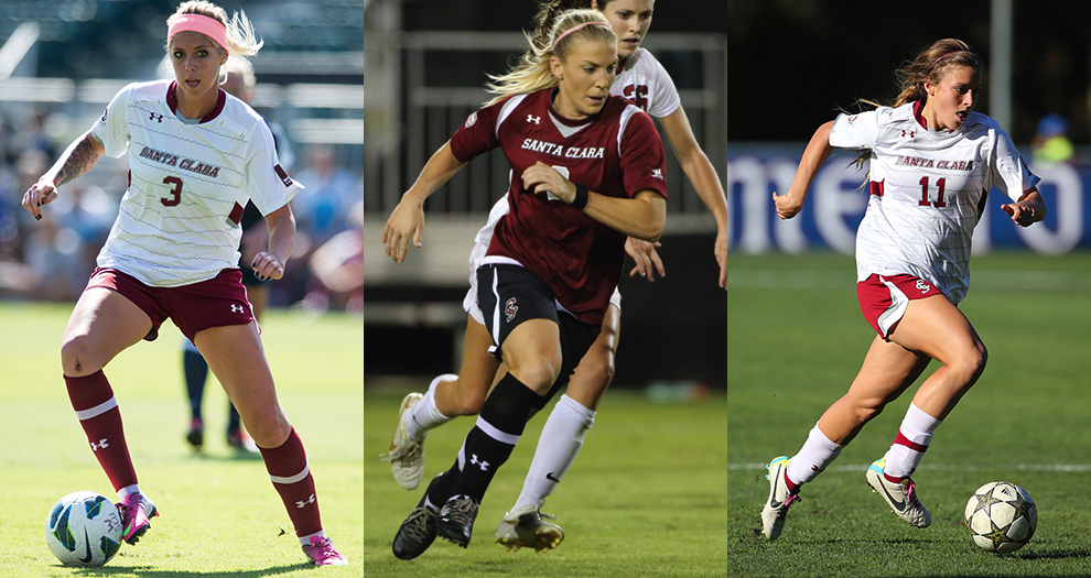 Julie Johnston Named WCC Player of the Year, Three Broncos Earn First-Team Honors