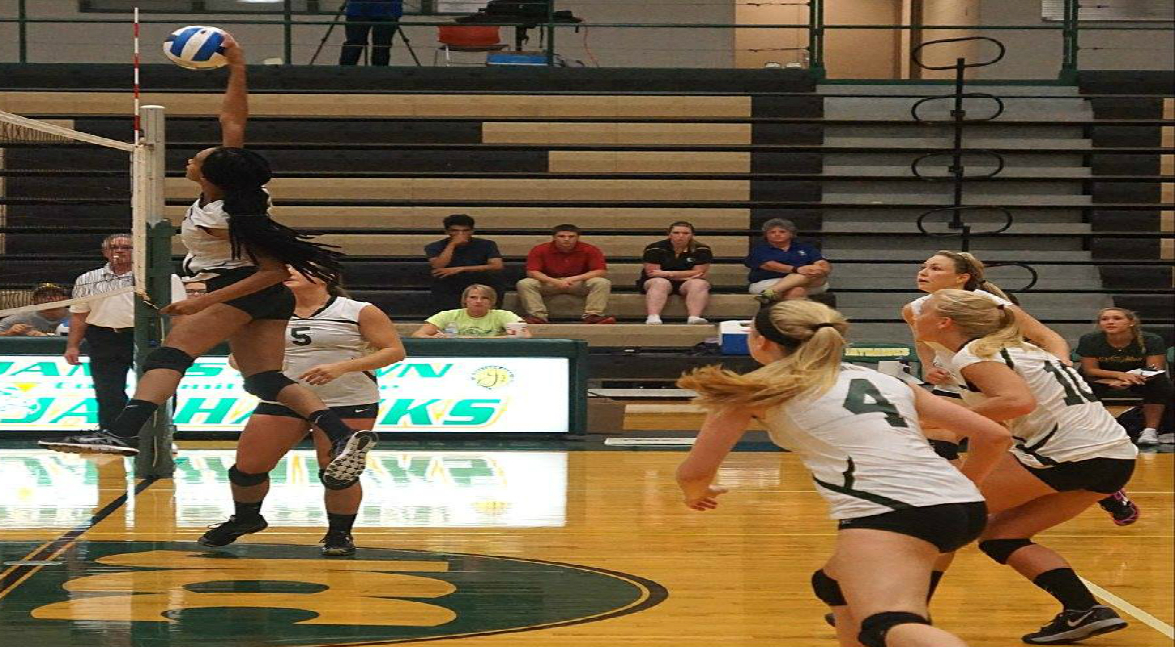 women's volleyball vs Onondaga CC (POD)