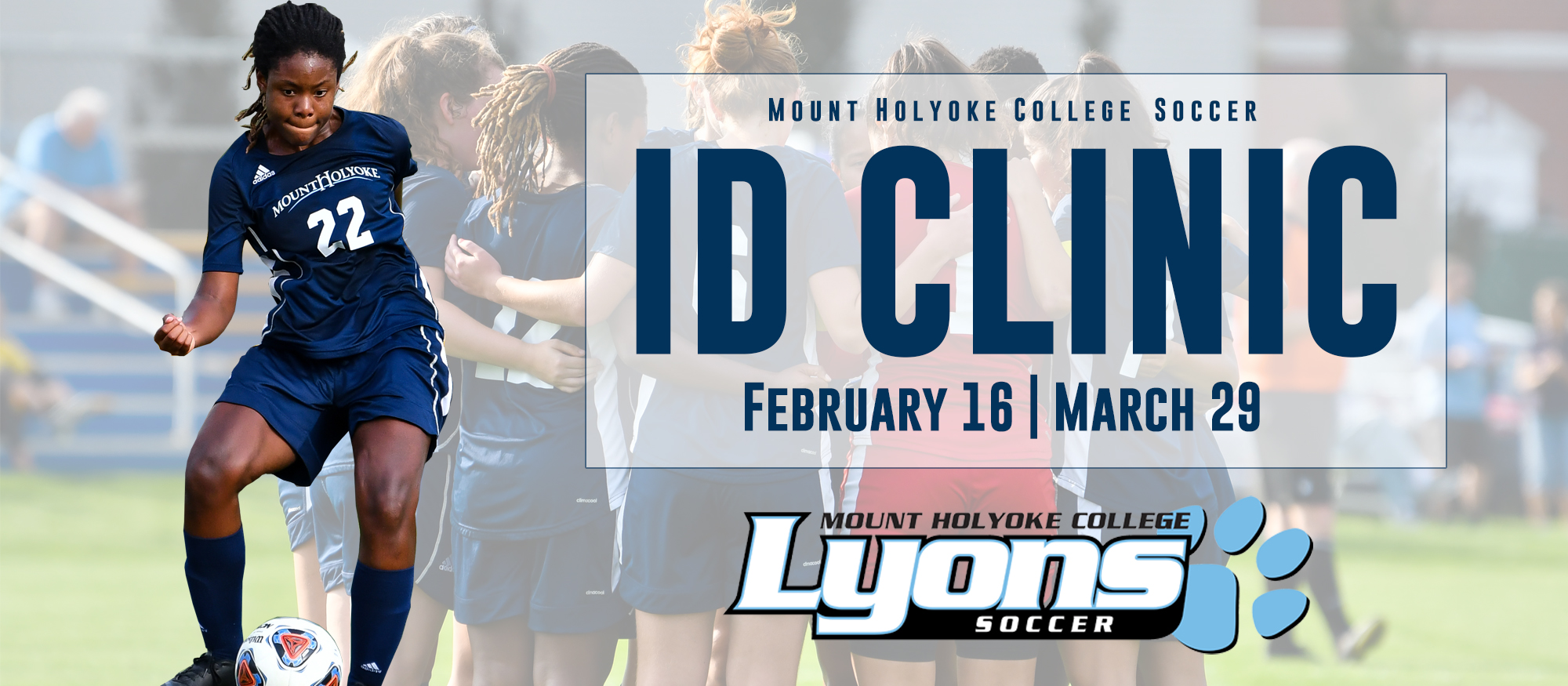 Soccer to Host Girls' ID Clinics on February 16 and March 29
