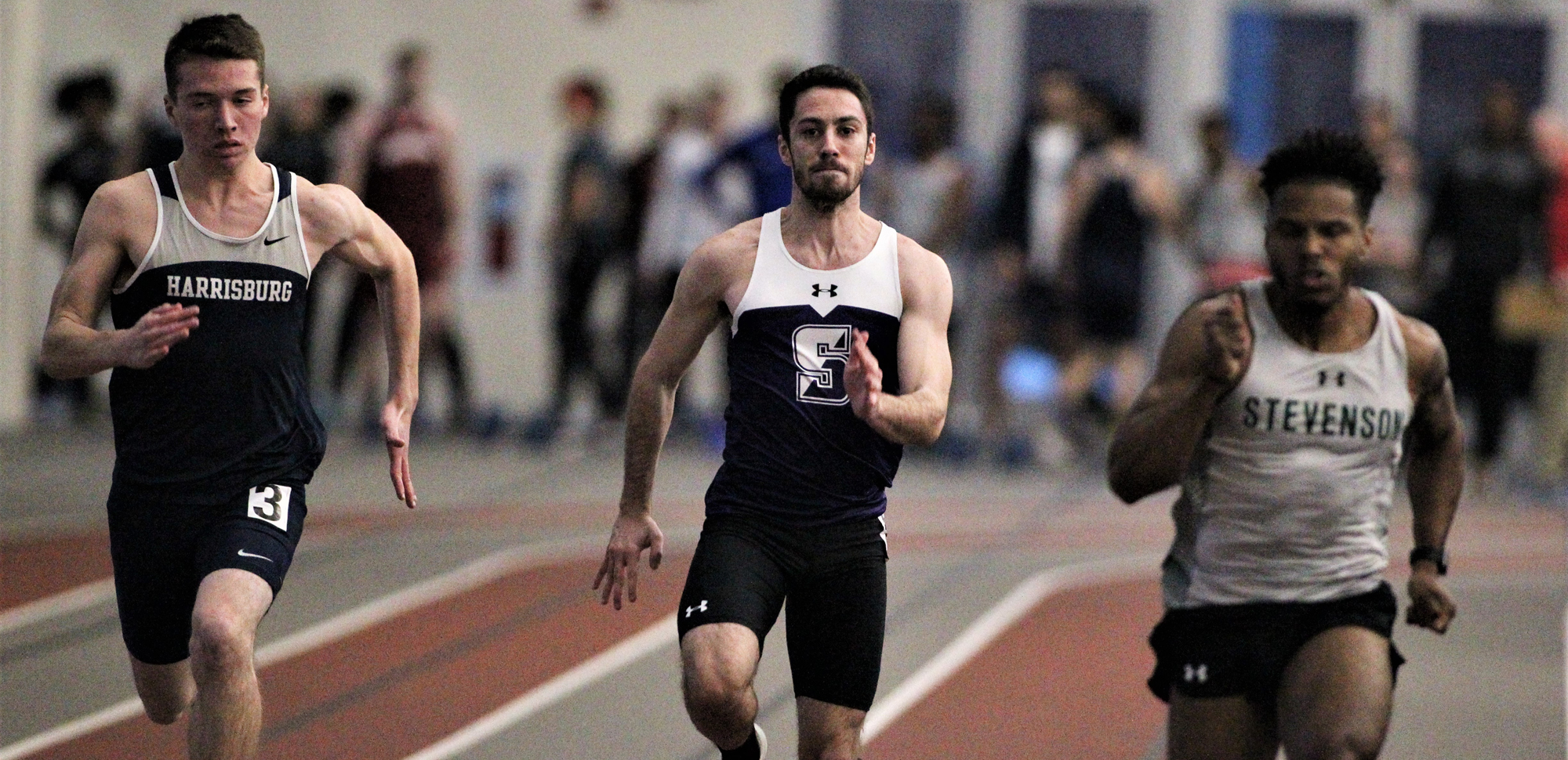 Mark Merli led Scranton by finishing 13th in the long jump on Saturday at the Moravian Indoor Invitational.