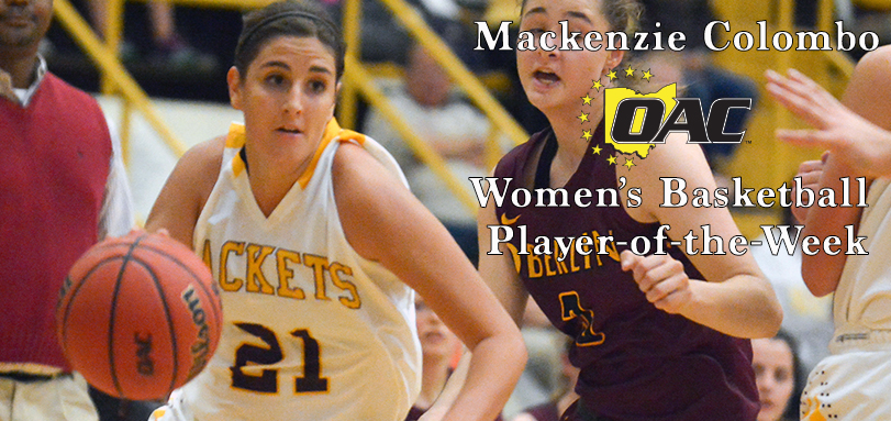 Colombo Earns First Career OAC Women's Basketball Player of Week Honor