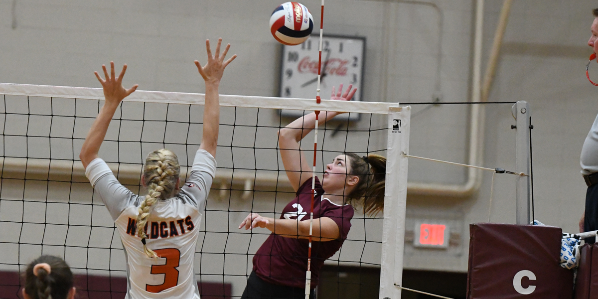 Evangel Volleyball Fights off Baker in 3-1 Victory