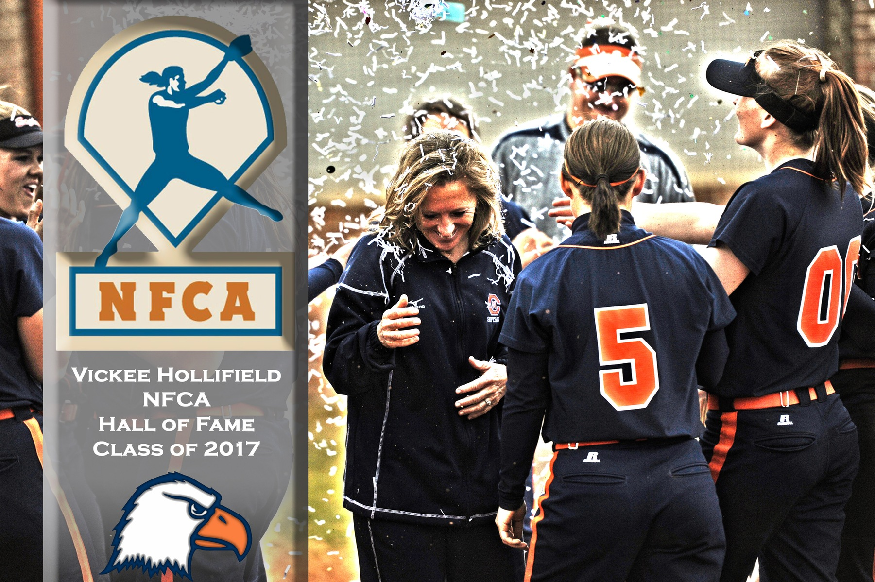 Kazee-Hollifield heads into NFCA Hall of Fame Friday night