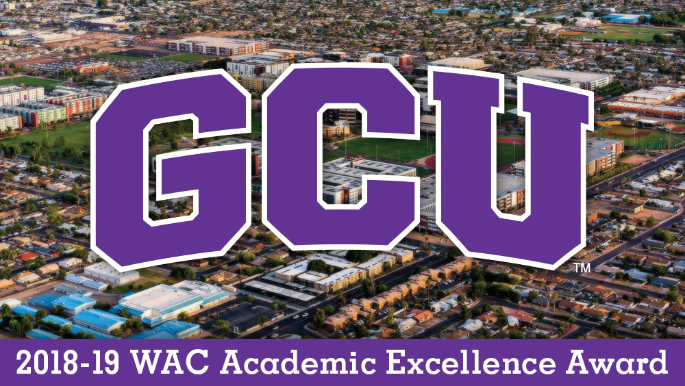 Grand Canyon Wins WAC Academic Excellence Award Again