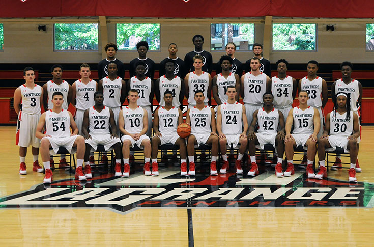 Men's Basketball: Panthers take on William Peace in first round of USA South Tournament
