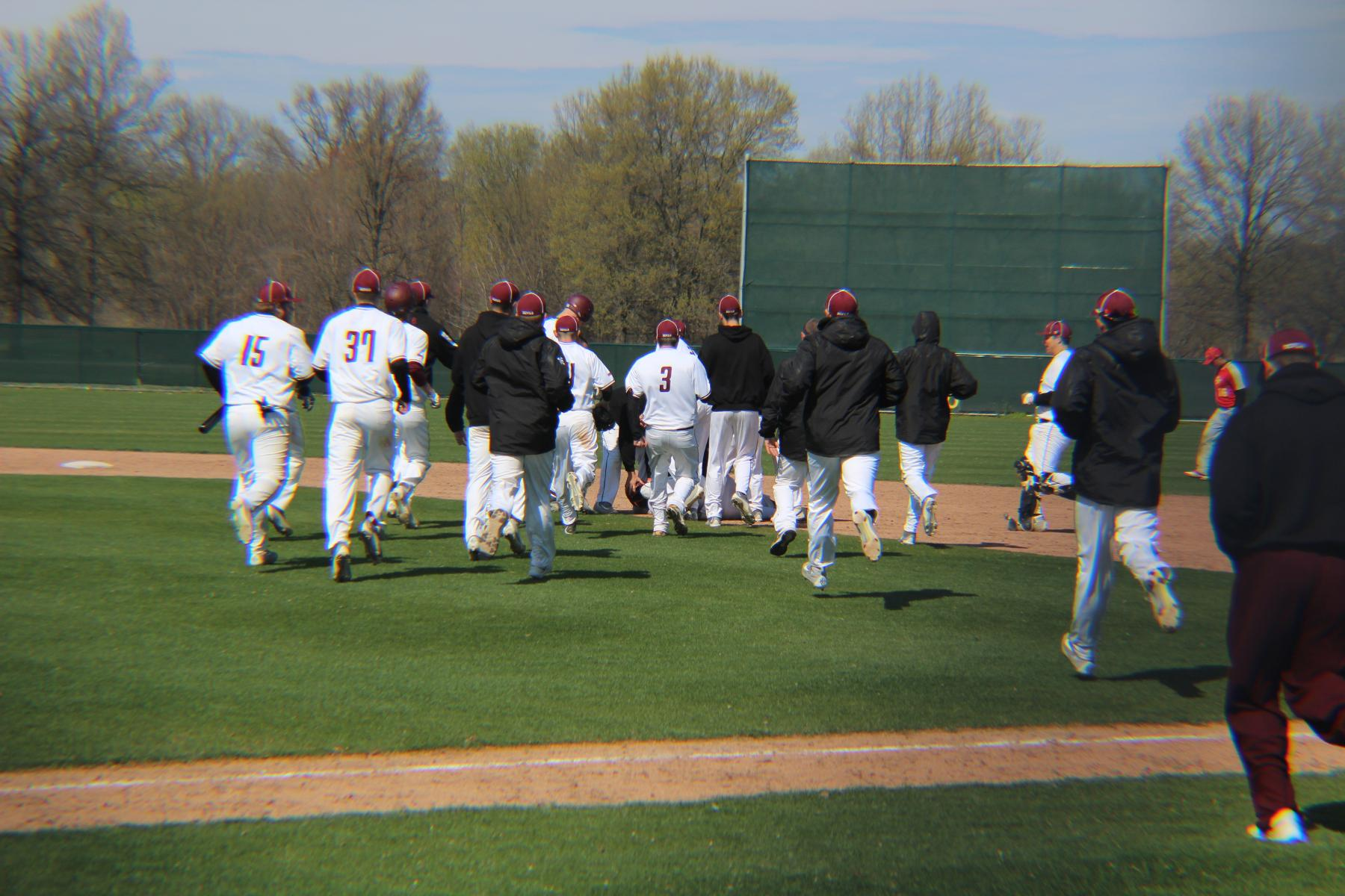 Devils Baseball Walks Off With Game One Win Over Dominican