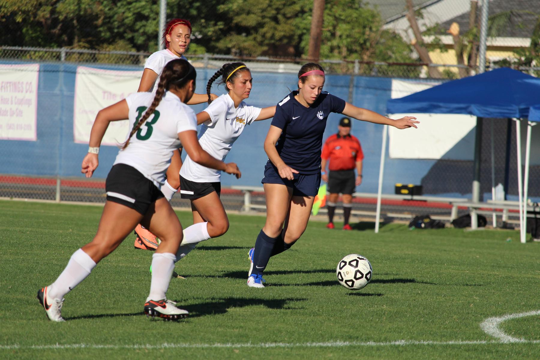 Chargers Tie Saddleback, 2-2