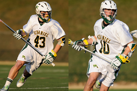 Two earn All-CC men's lacrosse honors