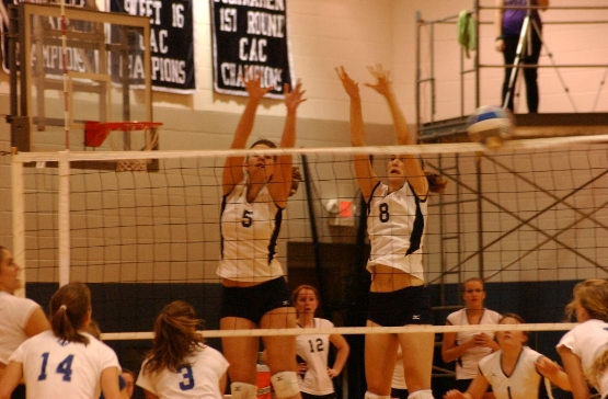 UMW Volleyball Sweeps N.C. Wesleyan in Opener