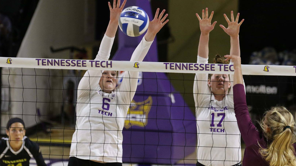 Tennessee Tech volleyball falls to Eastern Kentucky in three sets on Saturday afternoon