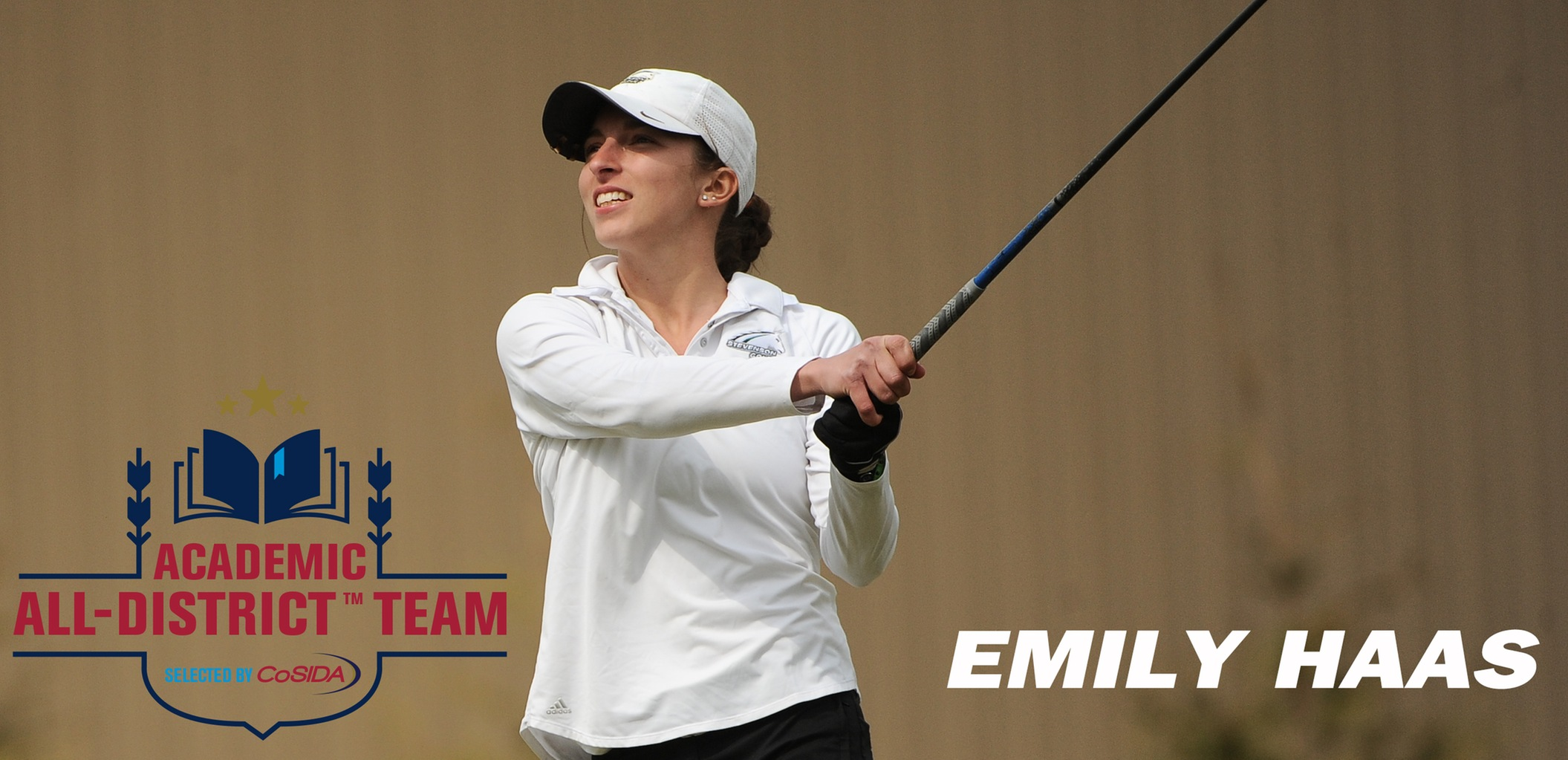 Emily Haas Collects CoSIDA Academic All-District Honors