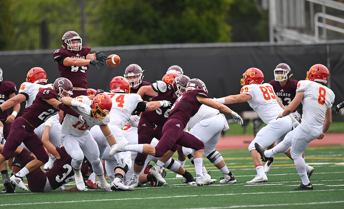 UChicago Football Loses to Simpson 21-0 in Home Opener