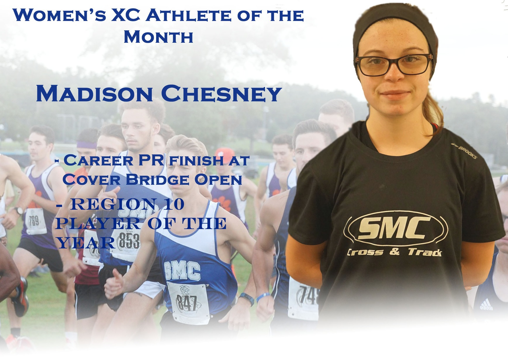 Women's XC Athlete of the Month