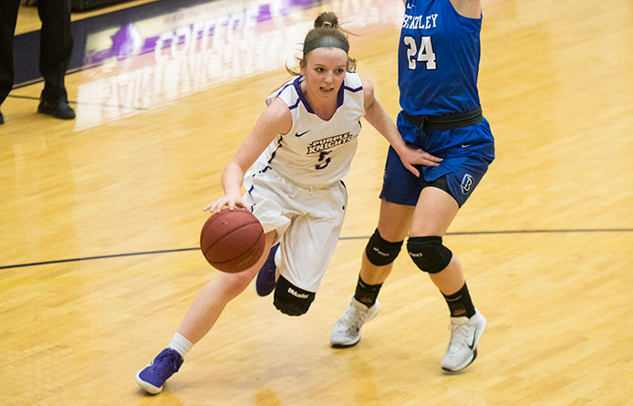 Women's Basketball Loses NE10 Decision at Assumption