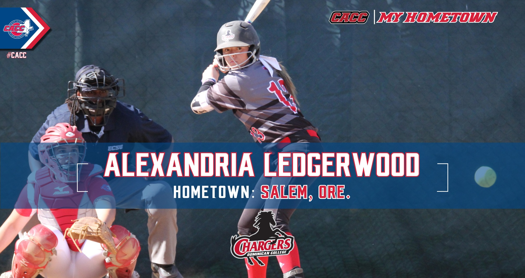 MY HOMETOWN: Dominican College's Alexandria Ledgerwood (Salem, Ore.)