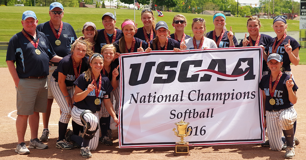 SMWC Softball Repeats as USCAA National Champions