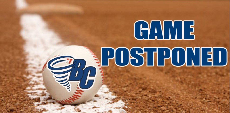 Monday's Matchup Postponed Due to Weather