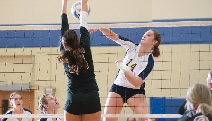 Volleyball Drops Home Opener to Nationally-Ranked Viterbo