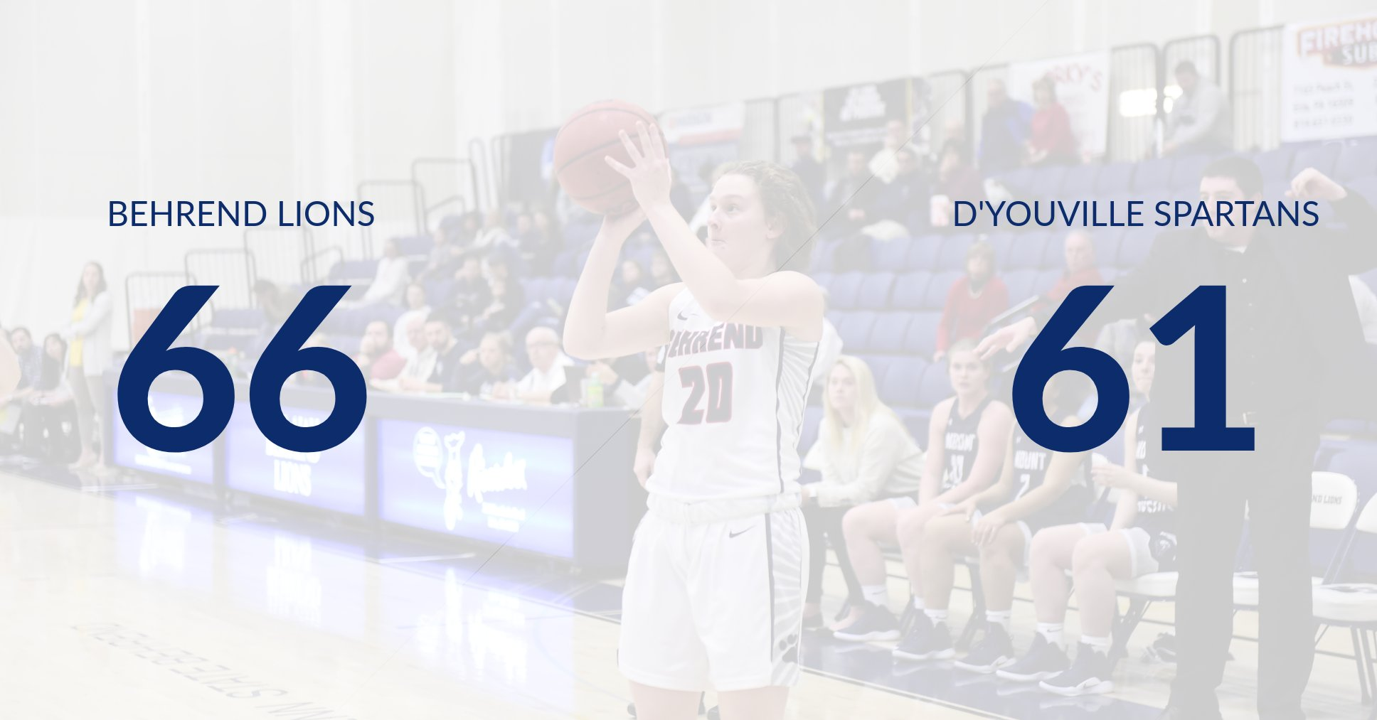 Women's Basketball Holds Off D'Youville