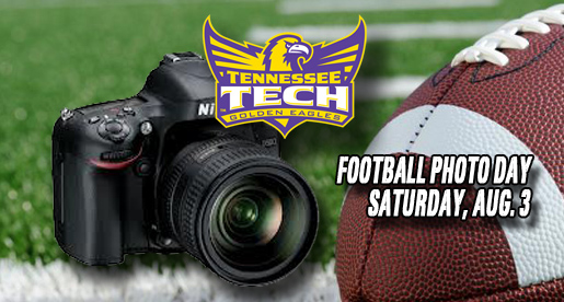 Annual Football Photo Day set for Saturday, Aug. 3 in Tucker Stadium