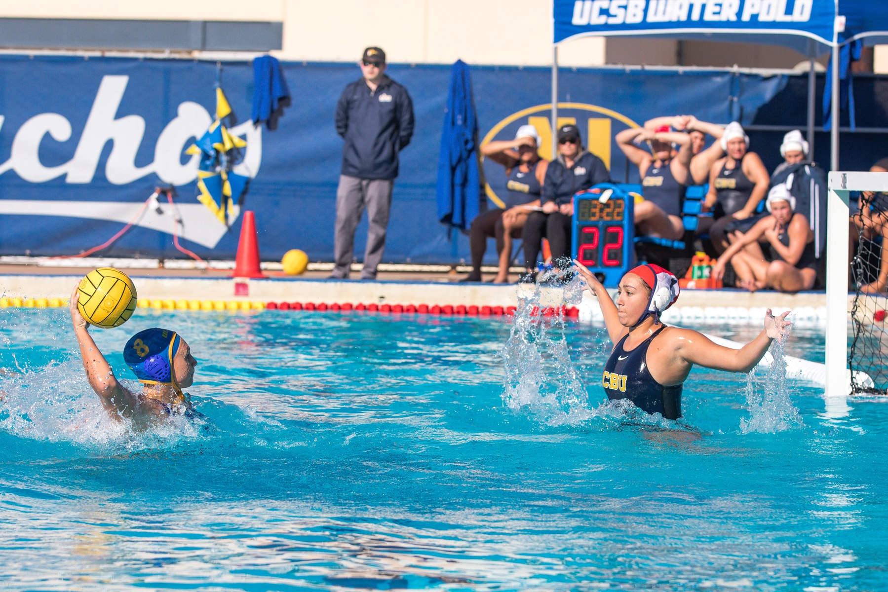 Gauchos Split Games on Second Day of Triton Invitational